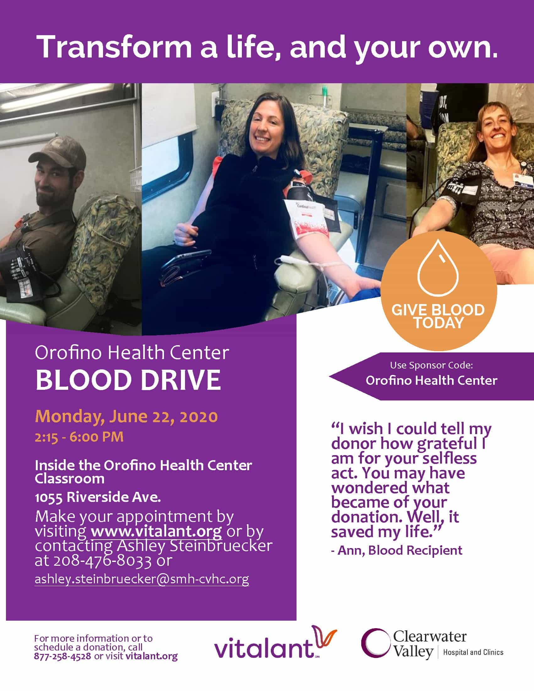 Blood Drive June