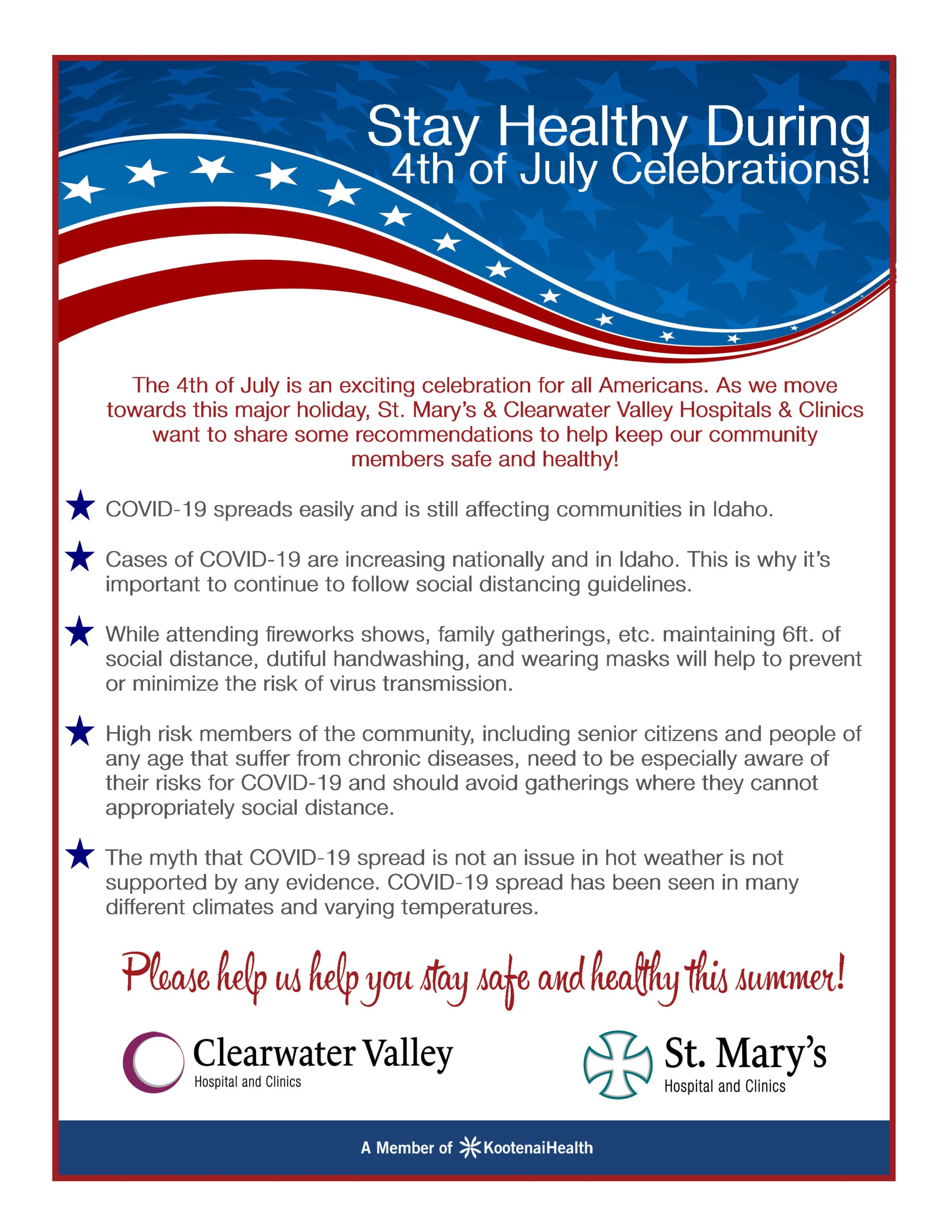 4th of July Safety During COVID