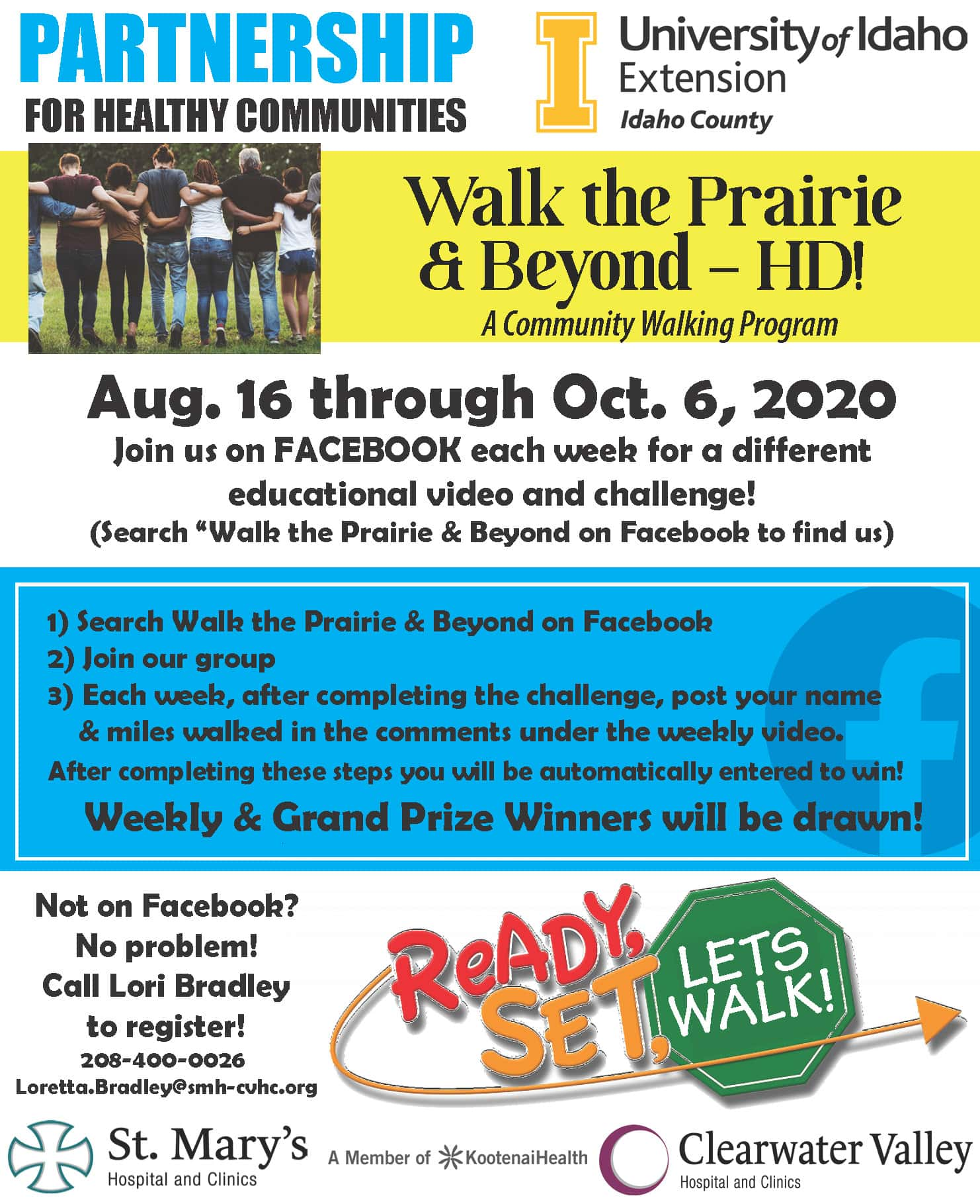 Walk Prairie and beyond 2020