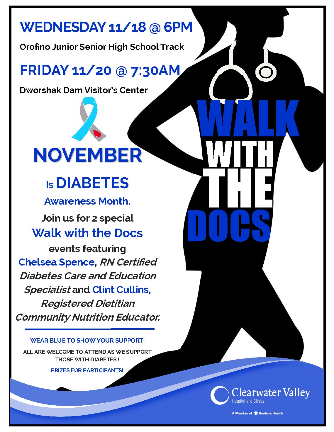 Walk with the Docs Flyer_Diabetes2020