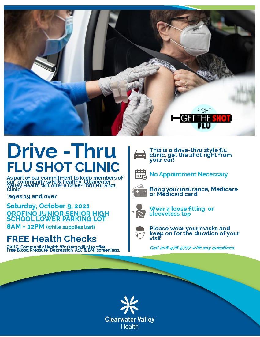 Drive Thru Flu Shot Clinic 2021 (1)