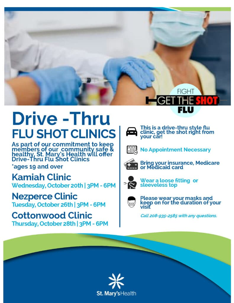 Flu Shot Clinics 2021_drive thru